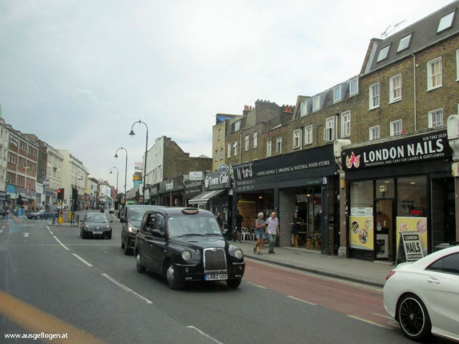 London mit Kindern Cab