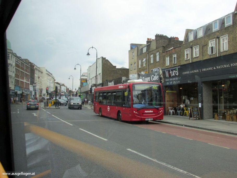 London mit Kindern Doppeldecker