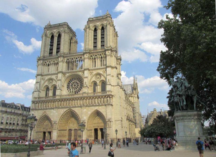 Paris Notre-Dame Interrail Nordeuropa