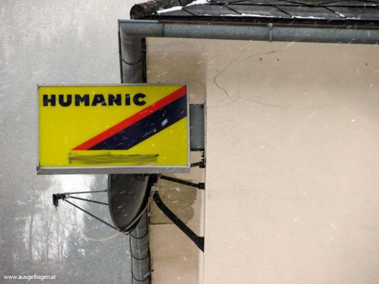 Humanic Schild