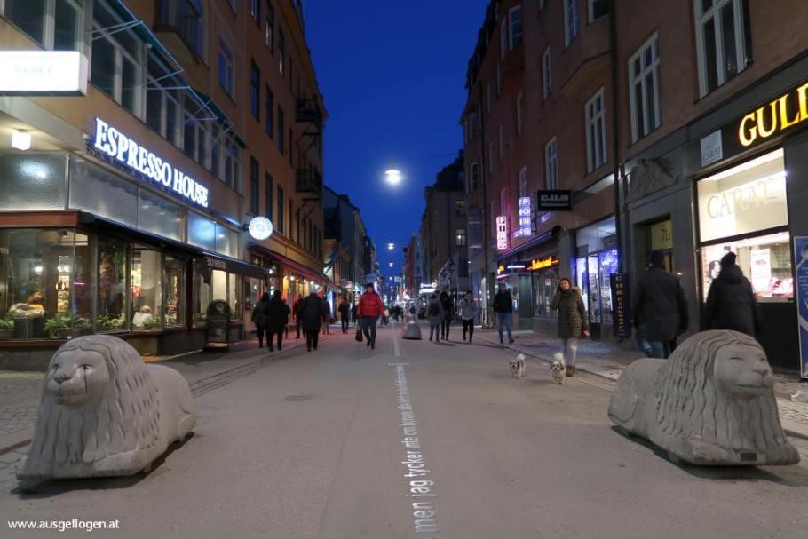 Stockholm City einkaufen