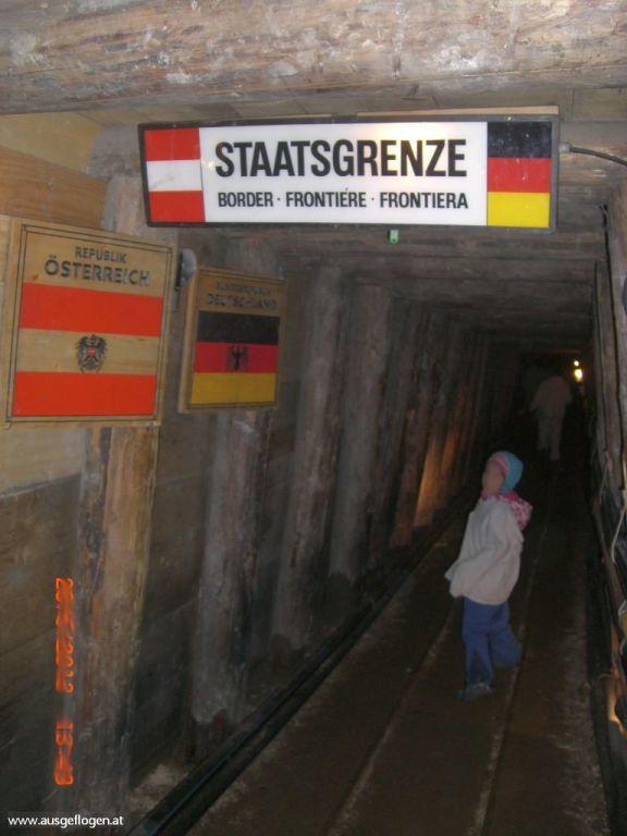 Grenzübergang Hallein Österreich Deutschland