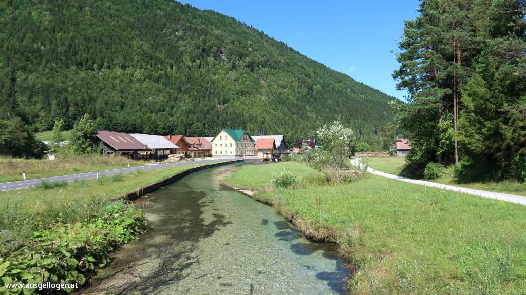 St. Aegyd Traisen Radweg Wehr