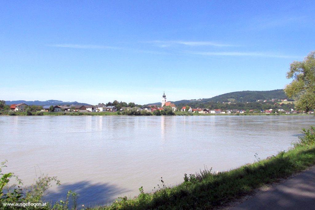 Donauradweg mit Kindern Passau Wien