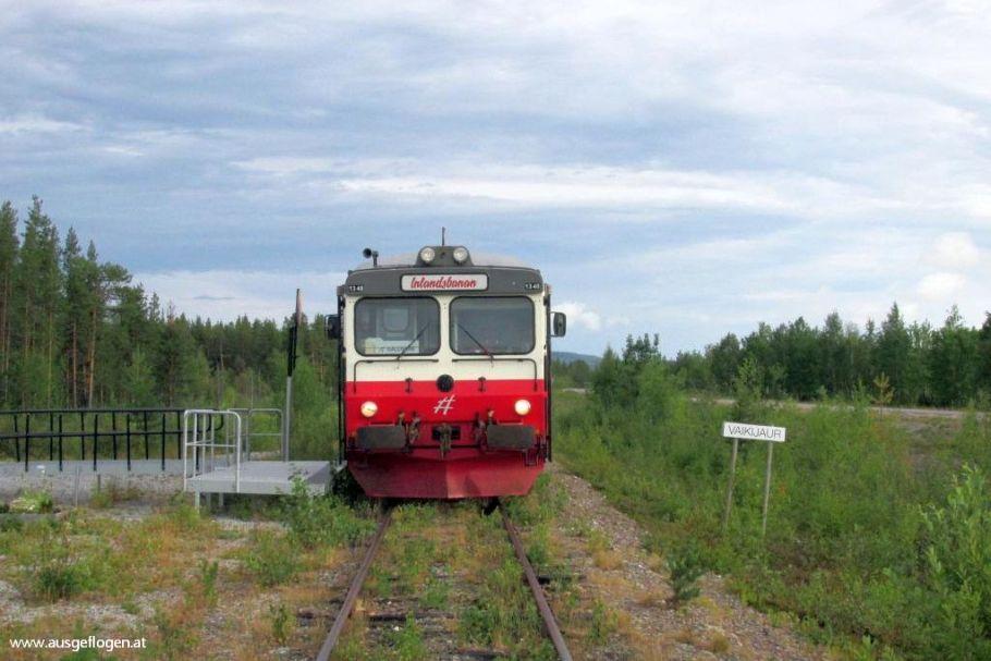 In den Norden Schwedens mit der INLANDSBANAN: 750 Kilometer Natur pur