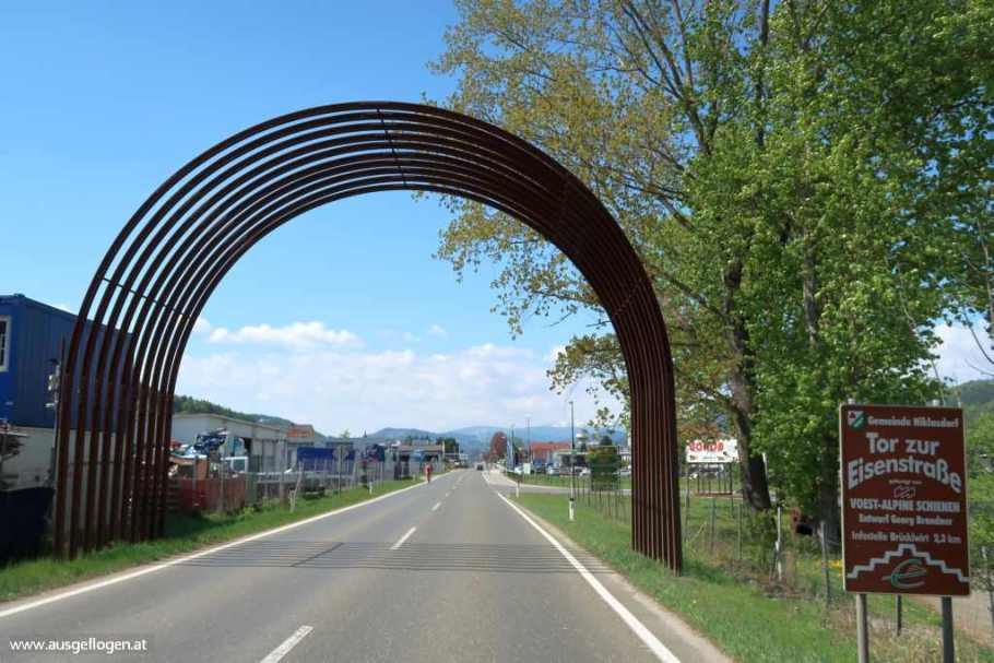 steirische Eisenstraße Tor