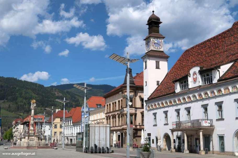 Leoben altes Rathaus steirische Eisenstraße