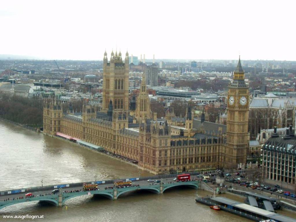 London mit Kindern Houses of Parliament