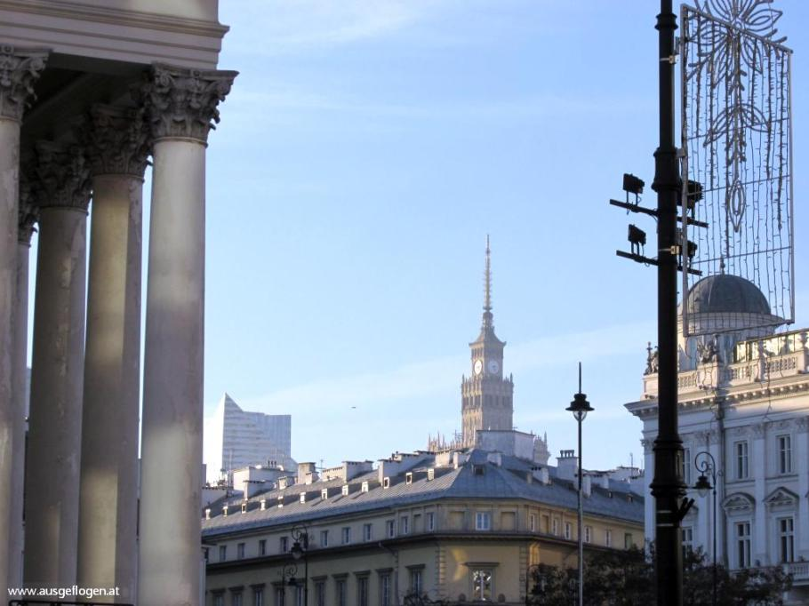 Warschau Städtebild