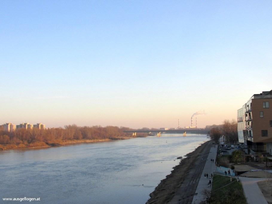 Warschau Weichselufer