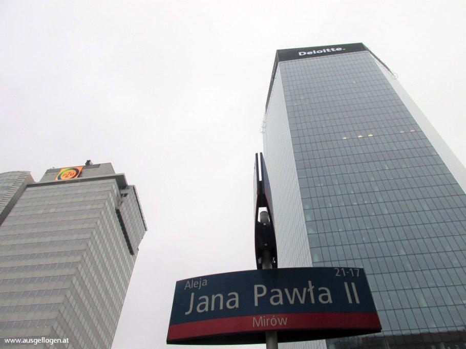 Warschau Skyscraüer