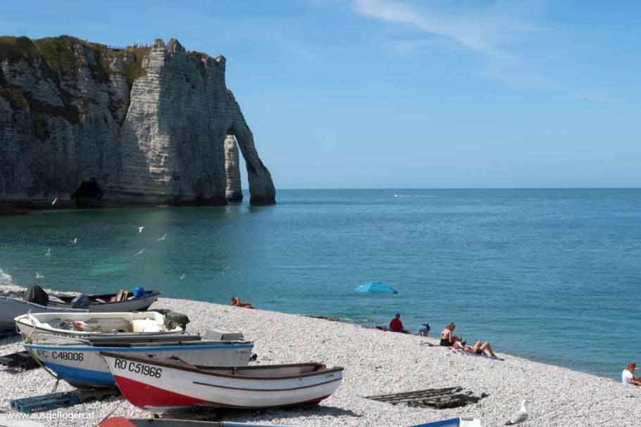 Die ALABASTERKÜSTE der Normandie rund um Étretat