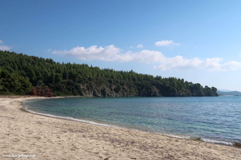 Strand chalkidiki kassandra schönster Kassandra stranden