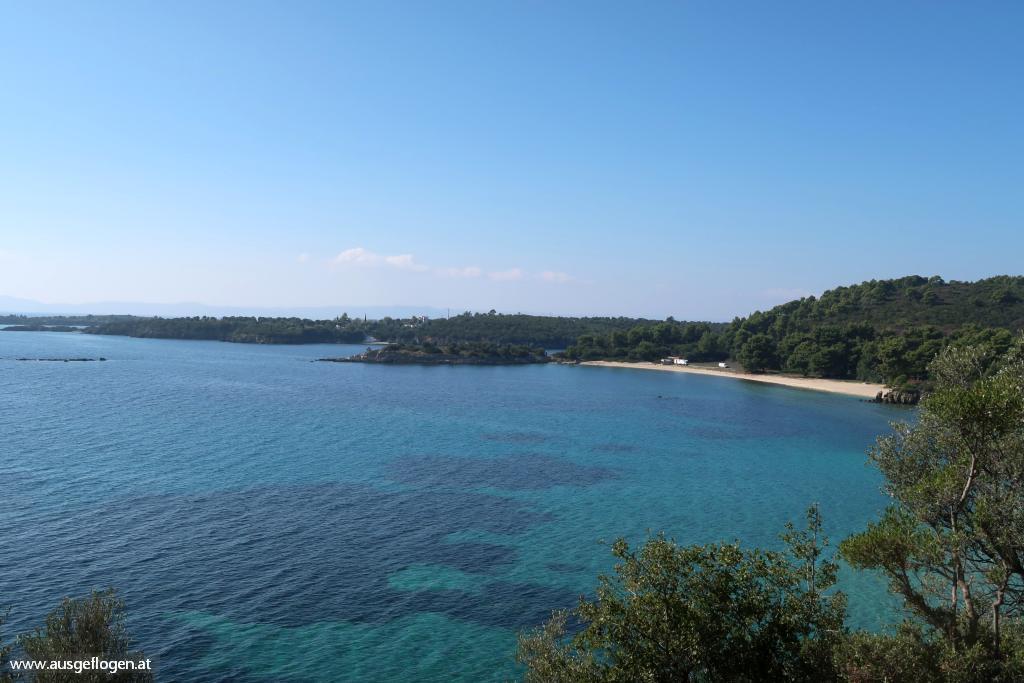Poseidon Beach schönste Strände Sithonia Chalkidiki