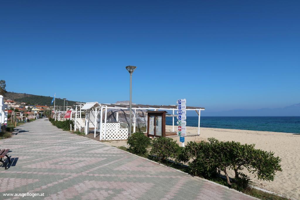 Sarti Beach Sithonia Strand