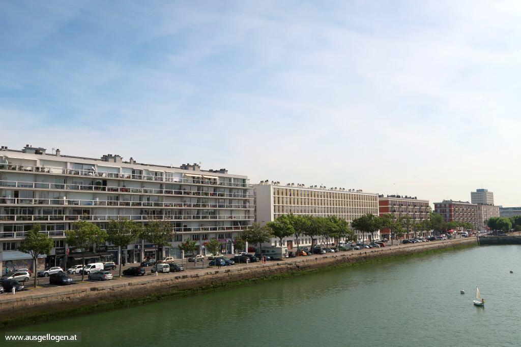 Le Havre Architektur Bassin Commerce Vulkan
