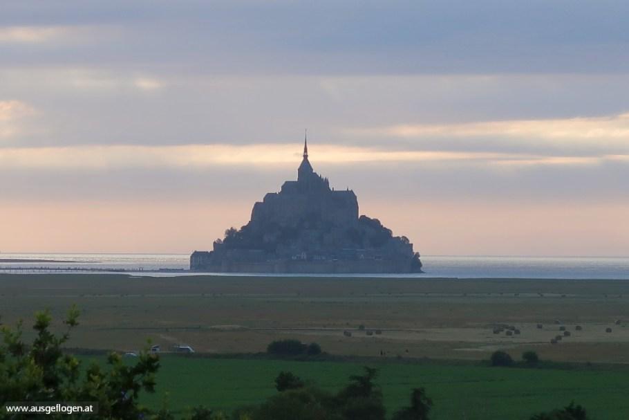 Mont Saint Michel bester Blick