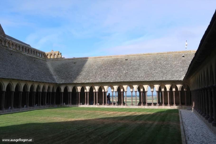 Mont Saint Michel Abtei Führung