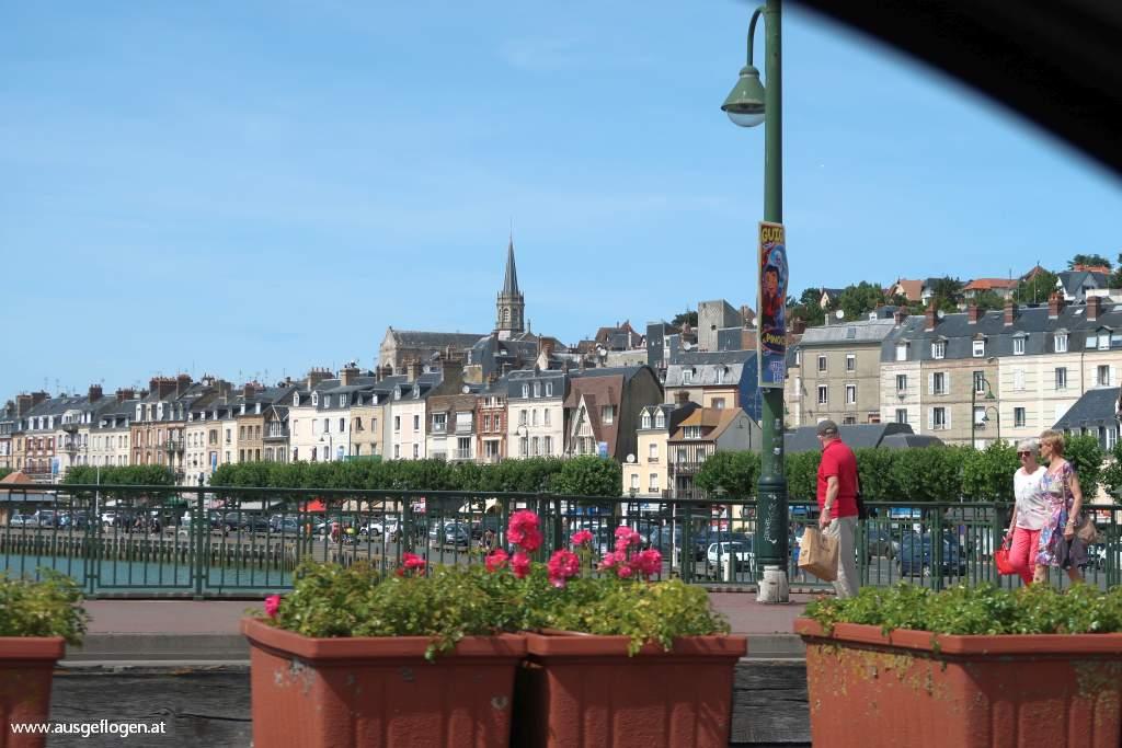 Deauville Normandie Strandbad