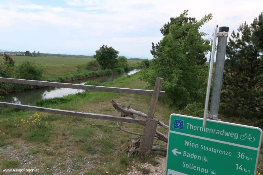 Thermenradweg Wiener Neustädter Kanal