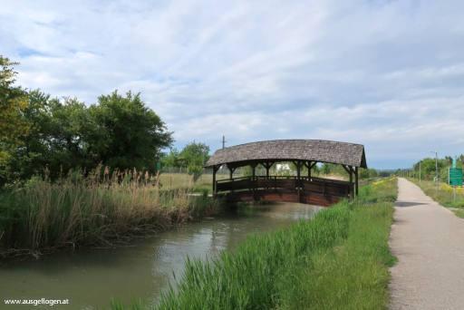 Baden Kanal radeln