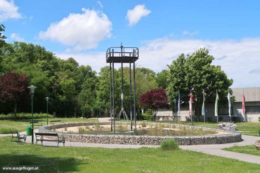 Schönkirchen-Reyersdorf alter Bohrturm