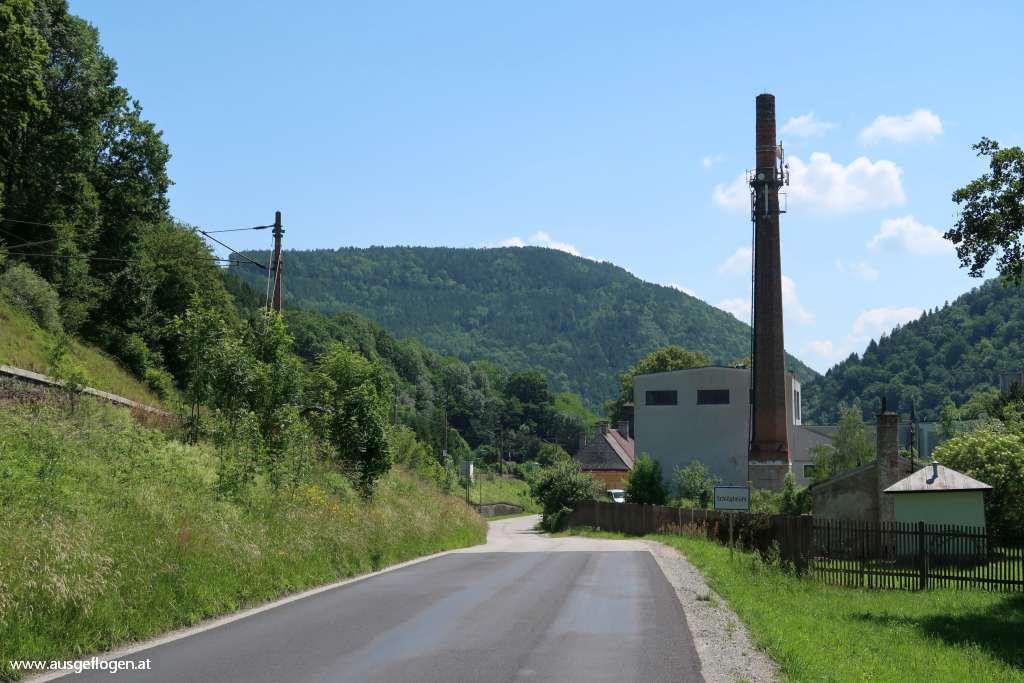 Schwarzatal Radweg Schlöglmühl