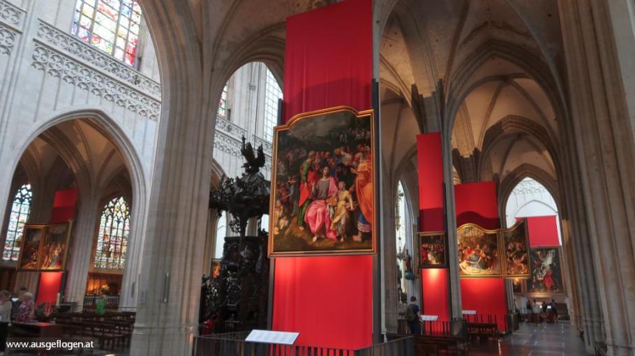 Antwerpen Liebfrauenkathedrale Rubens