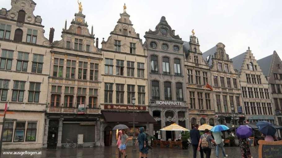 Antwerpen Sehenswürdigkeit Grote Markt