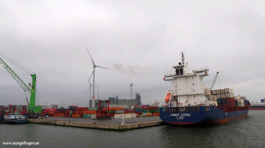 Hafenrundfahrt Antwerpen