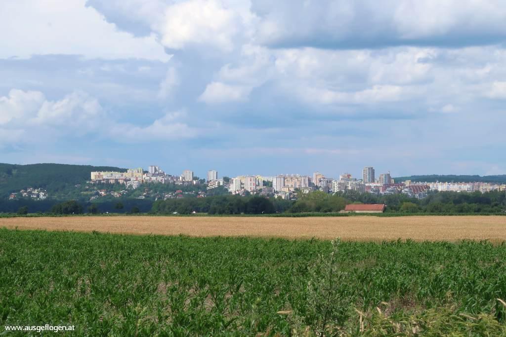 Grenze Berg Bratislava
