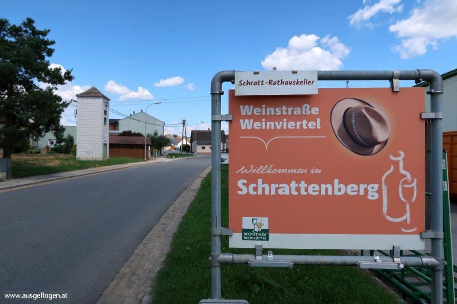 Grenze Nordosten Österreich Grenzübergang Schrattenberg