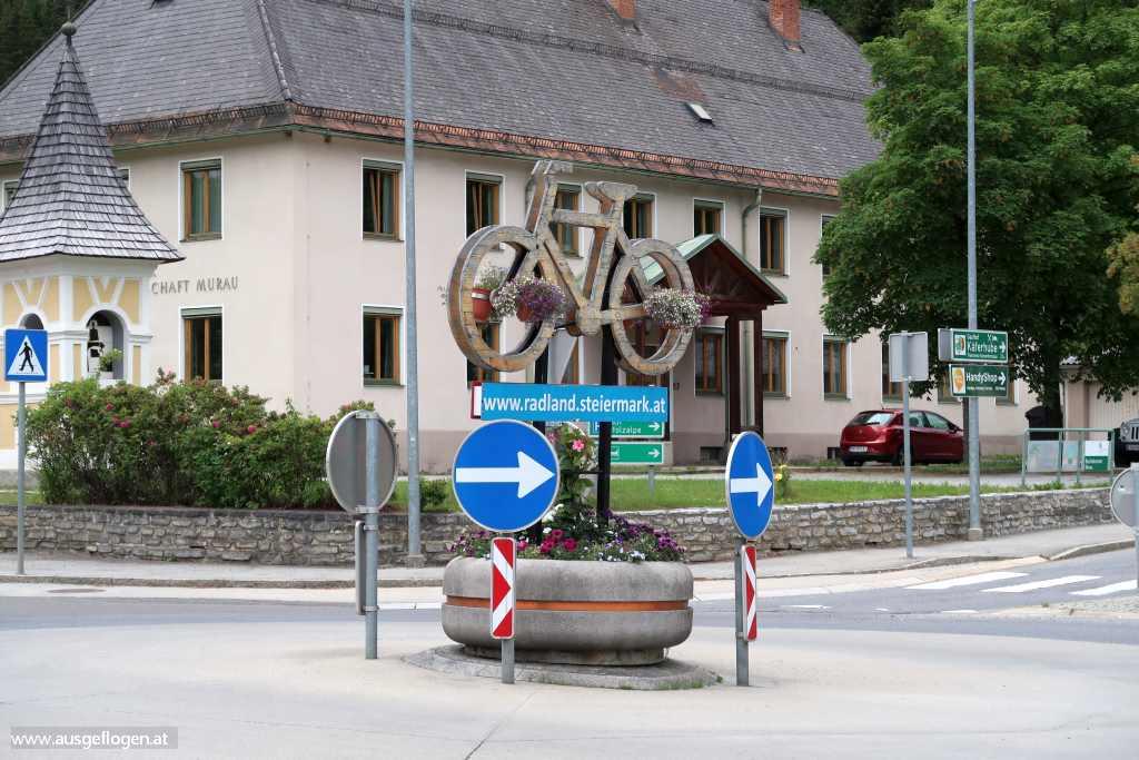 Murau Kreisverkehr