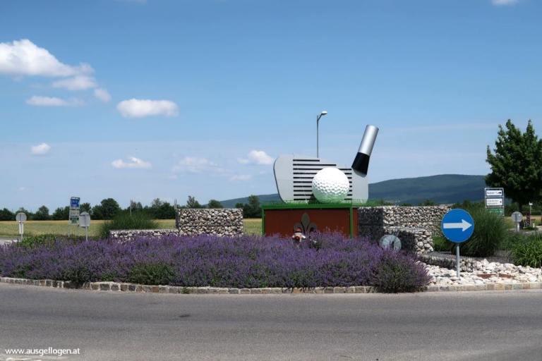Kreisverkehr Bad Erlach