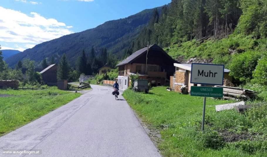 Murradweg Etappe Lungau
