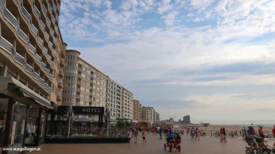 Oostende belgische Küste