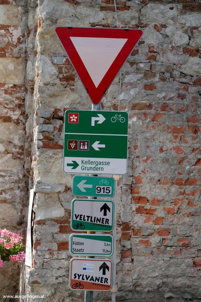 Radwege Weinviertel