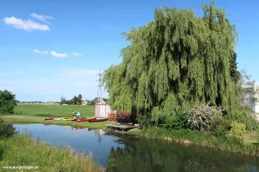 Wiener Neustädter Kanal Bootshaus