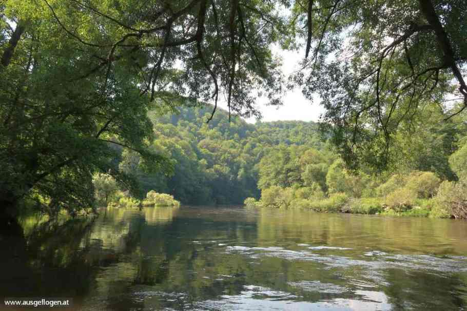 Nationalpark Thayatal Kajabachmündung