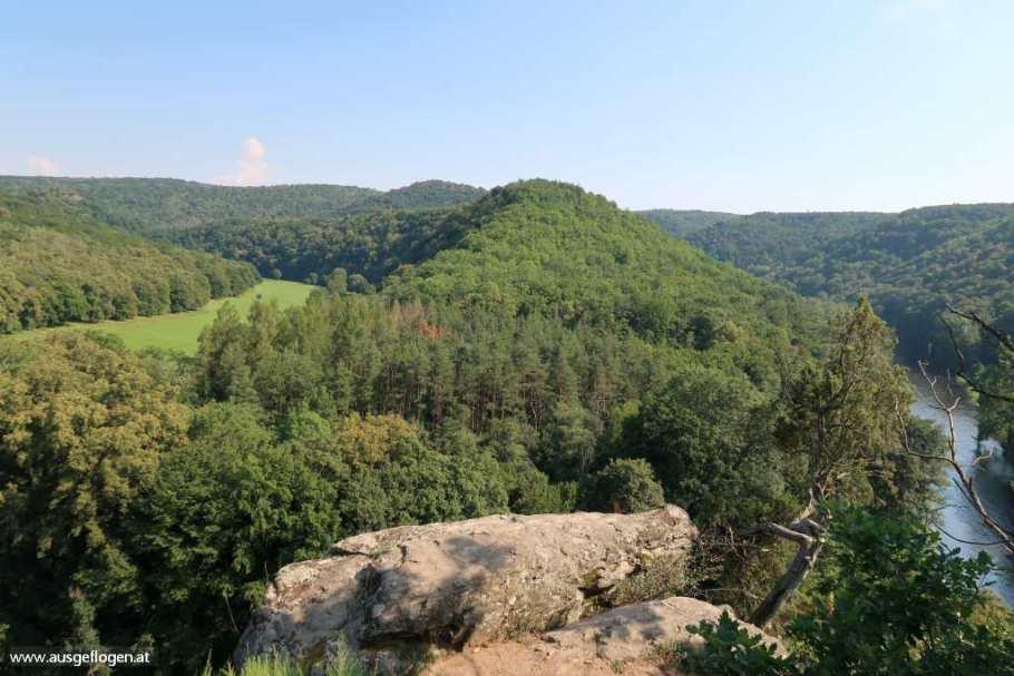 Nationalpark Thayatal Wanderung Umflaufberg