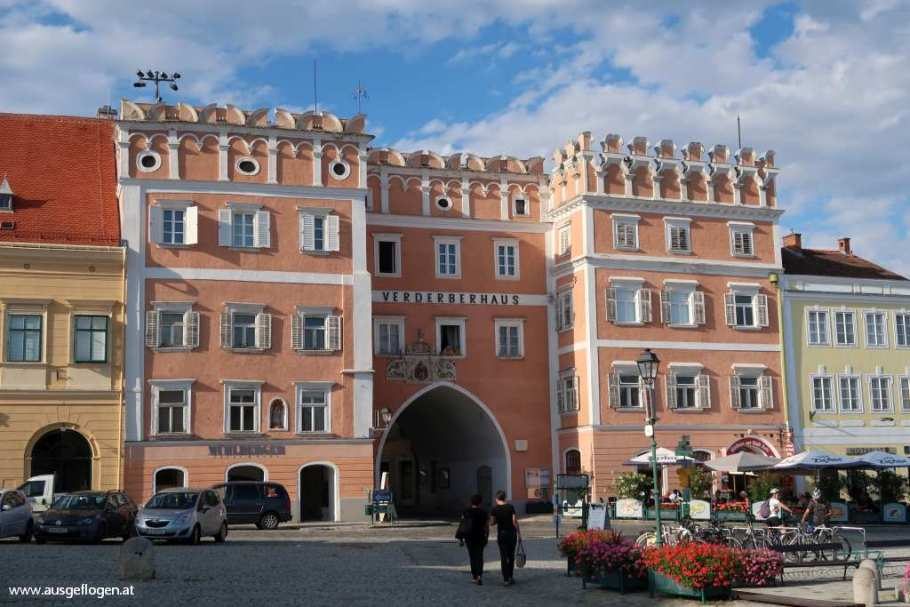 Retz Hauptplatz Verderberhaus