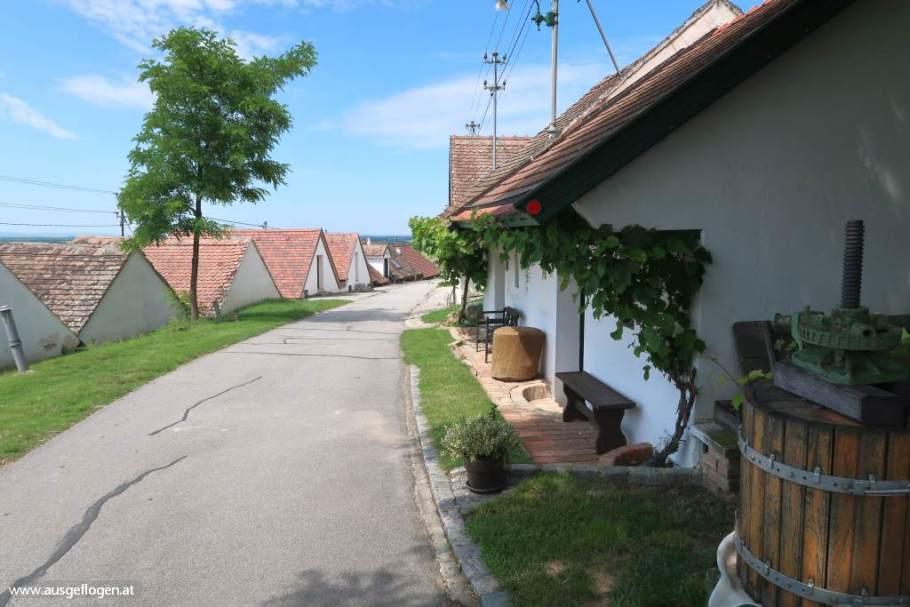 Kellergasse Wildendürnbach Galgenberg