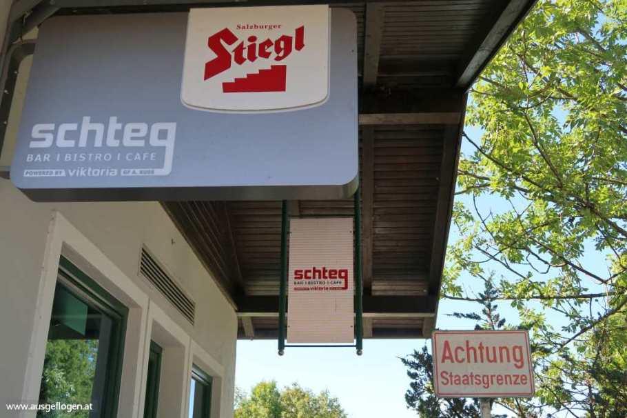 Salzburg Grenzübergang Steg Hausmoning