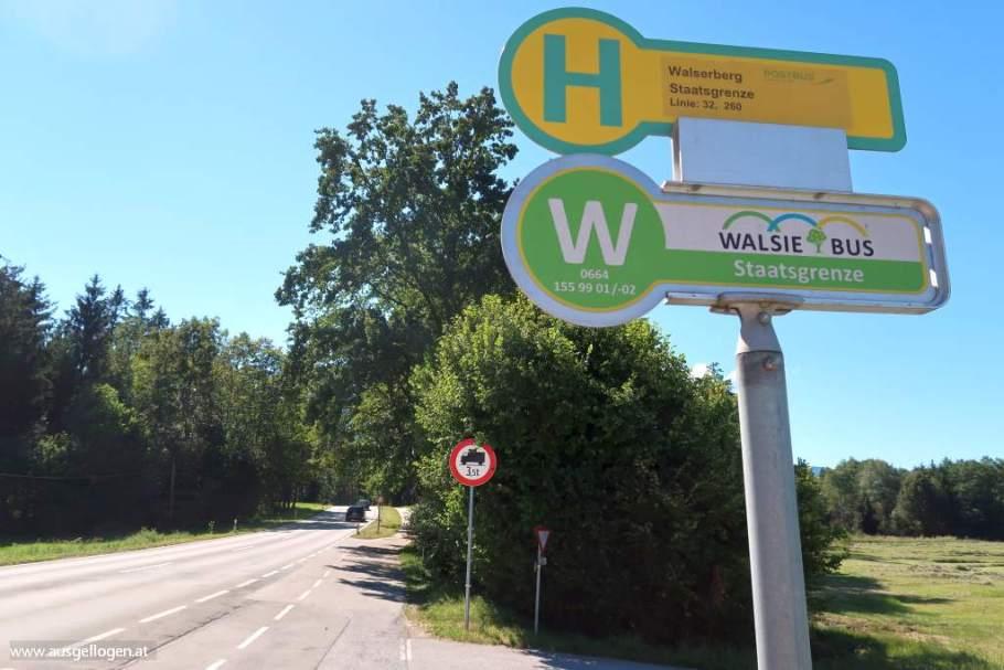 Grenzübergang Walserberg