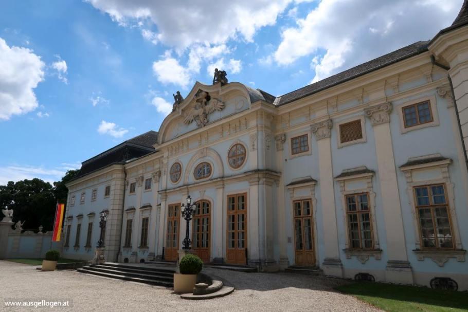 Schloss Halbturn Seewinkel Sehenswürdigkeit Burgenland