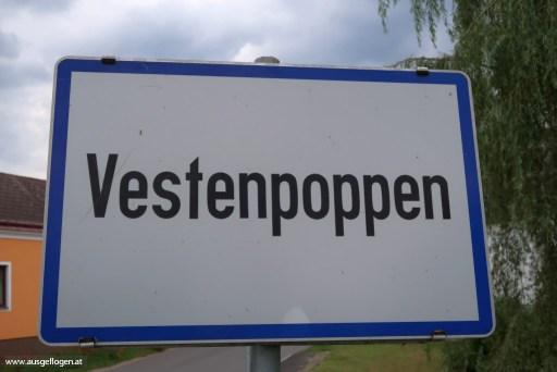 Ortstafel Österreich Vestenpoppen