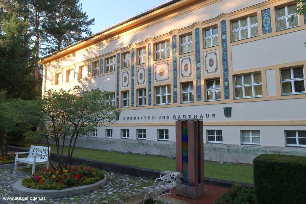 Kurmittelhaus der Moderne Bad Reichenhaus