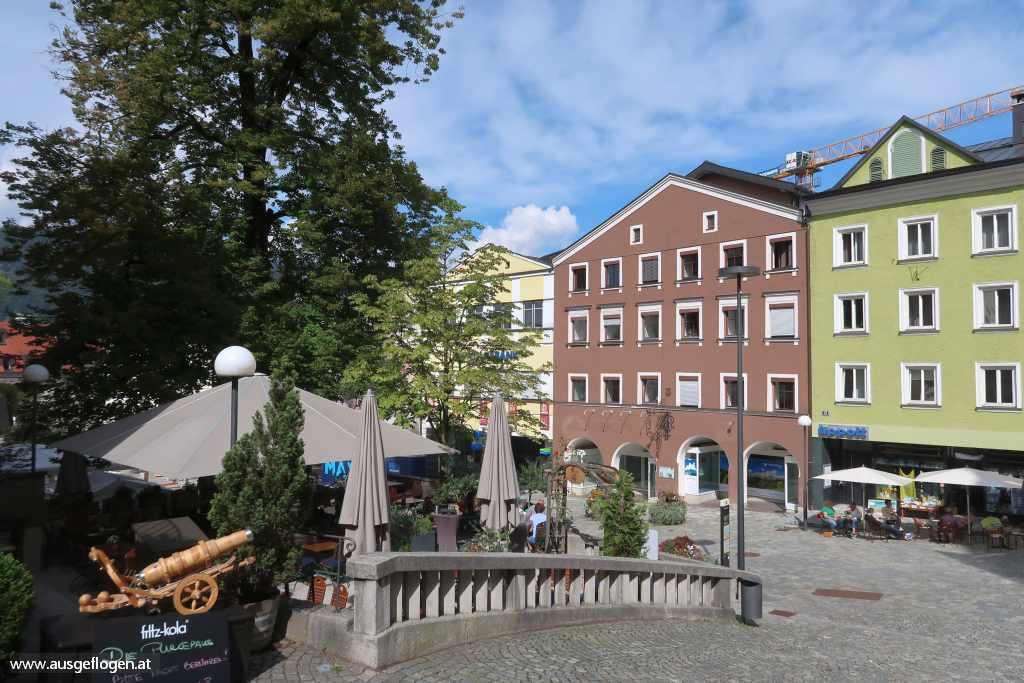 Kufstein Sehenswürdigkeiten oberer Stadtplatz