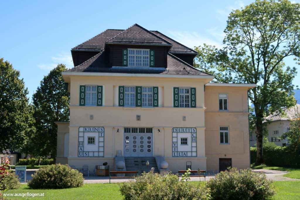 Strobl Sehenswürdigkeiten Deutschvilla