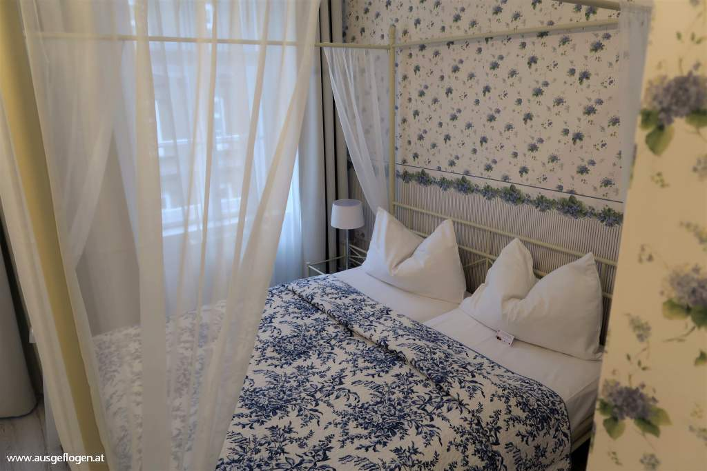 Romantikhotel Wien Himmelbettzimmer zentrumsnah